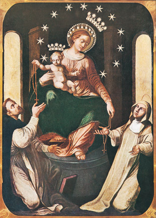 Supplica Alla Madonna Del Rosario Di Pompei In Lingua